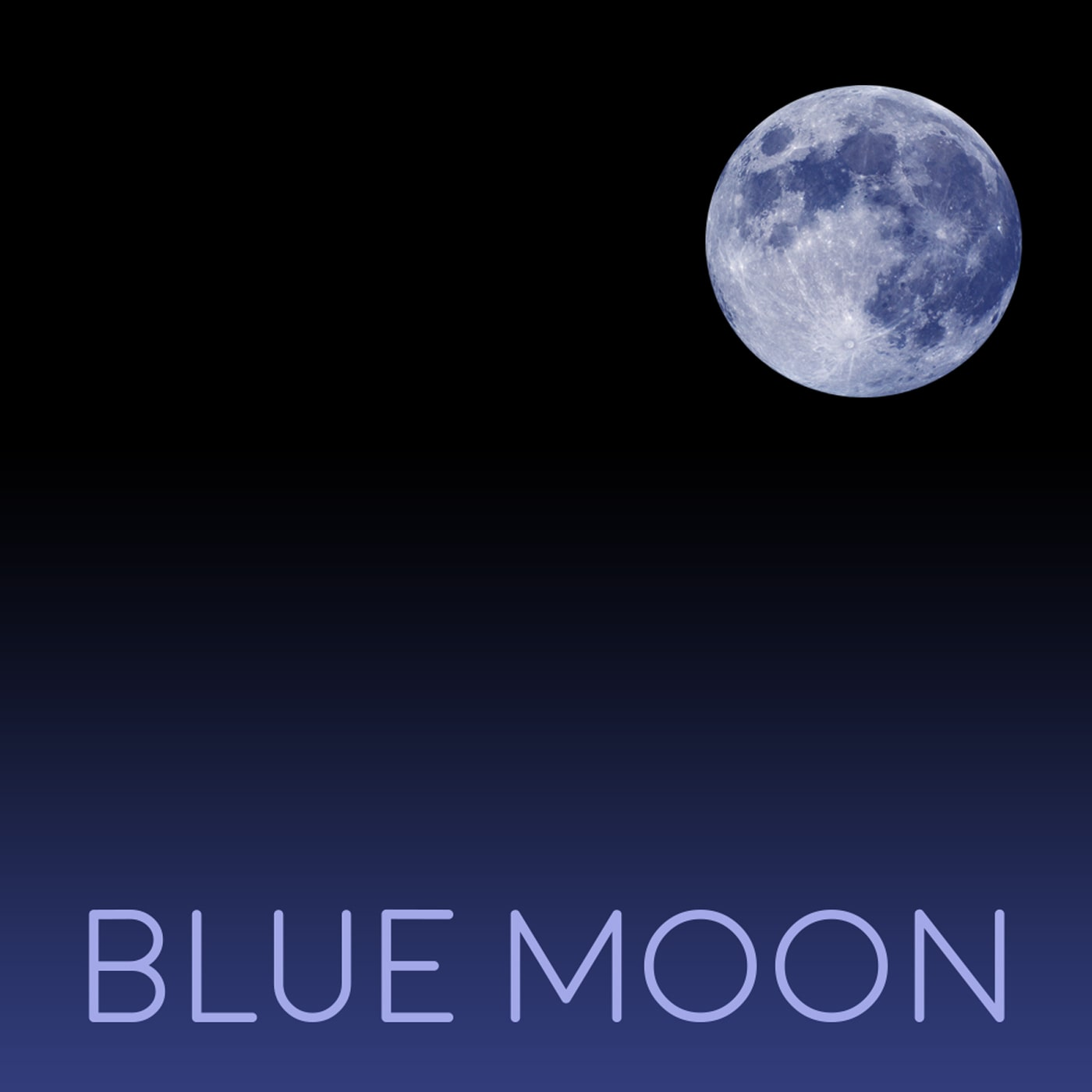 Blue Moon Artwork