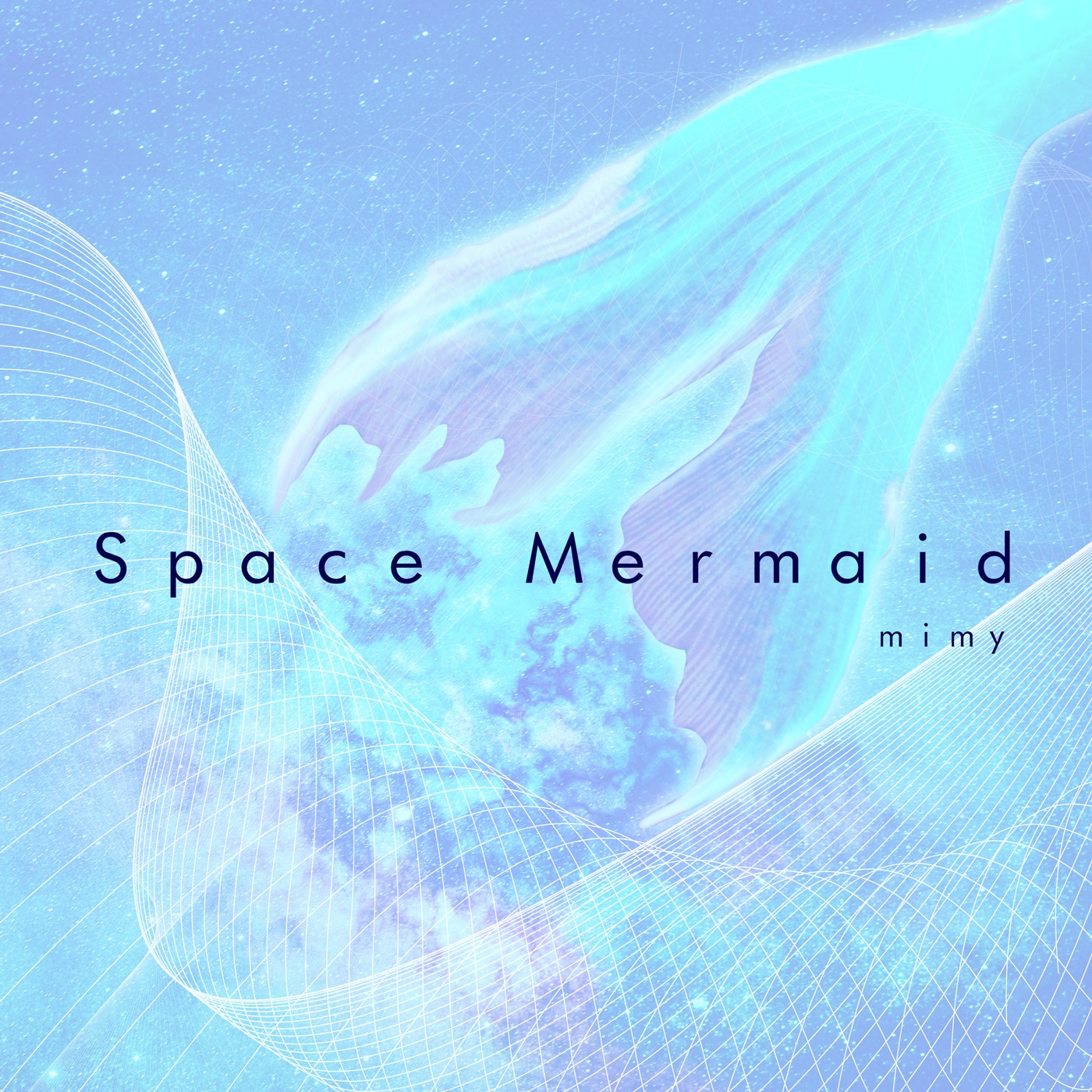 Space Mermaid Artwork